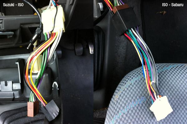 Suzuki - ISO - Subaru wiring adapters