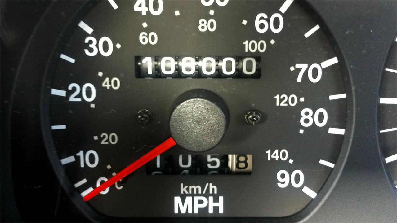 A Suzuki Cappuccino hits 100,000 miles