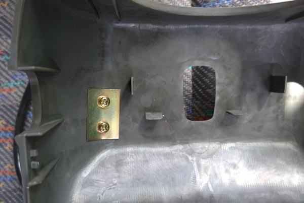 Suzuki Jimnt JB23 steering column boost gauge fixing