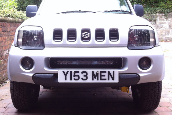 Rigid Industries SR-20 mounted on a Suzuki Jimny
